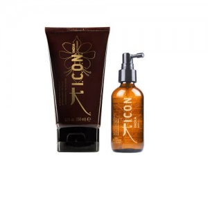 Pack ICON India Curl Cream + Dry Oil