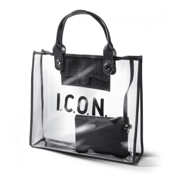 ICON Tote Bag Bolso Transparente
