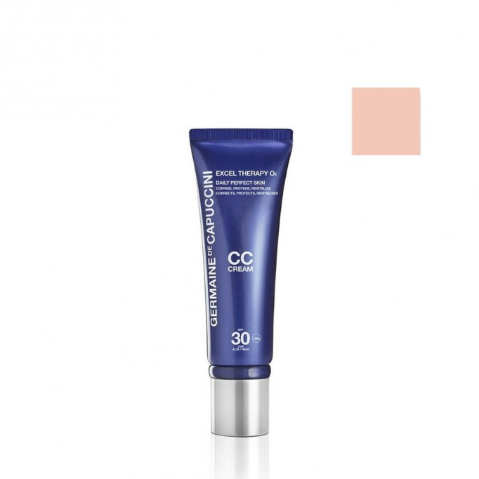 Crema UV Urban Shield SPF 50 Excel Therapy O2 - Germaine de Capuccini