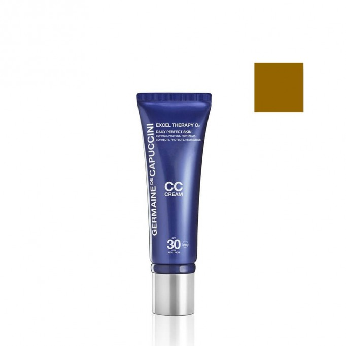 CC Cream Beige Daily Perfection SPF 30 Excel Therapy O2 - Germaine de Capuccini