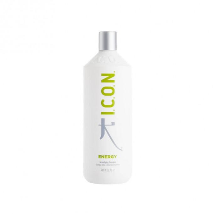 Pack ICON Detox Litro: Champú Energy + Tratamiento Shift + Acondicionador Awake