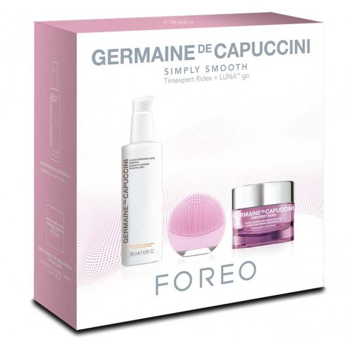 Pack Germaine de Capuccini Crema Timexpert Rides + Desmaquillante + LUNA go de Foreo