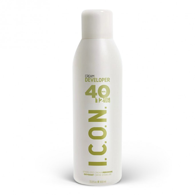ICON Cream Developer - Oxigenada 40 volumenes - 1000 ml