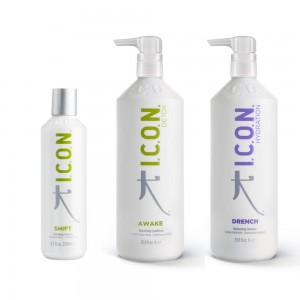 Pack ICON Trata. Shift + Champú Drench + Awake Acond.
