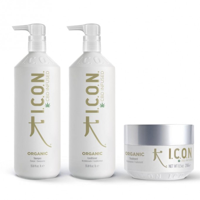 Pack ICON Organic Litros + Tratamiento Infused