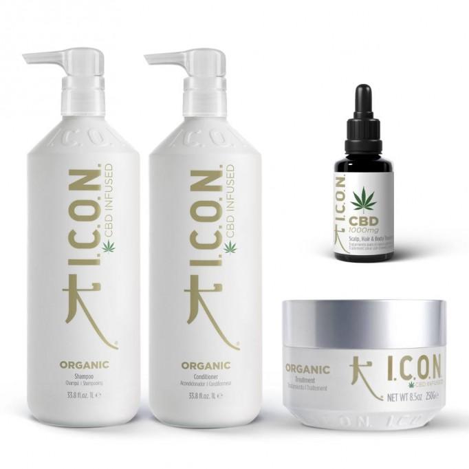 Pack ICON Organic Litro