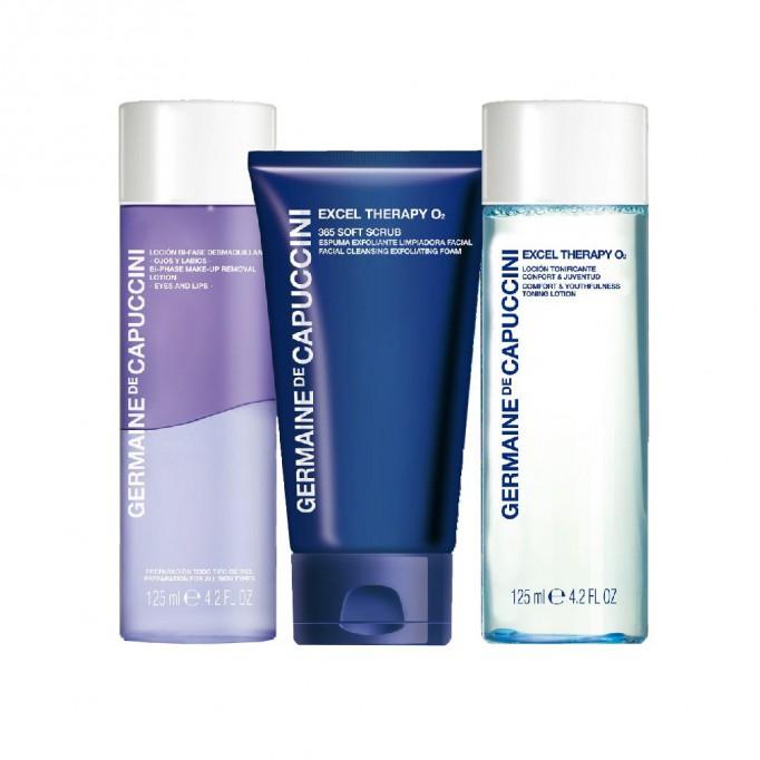 Pack Germaine de Capuccini limpieza facial o2
