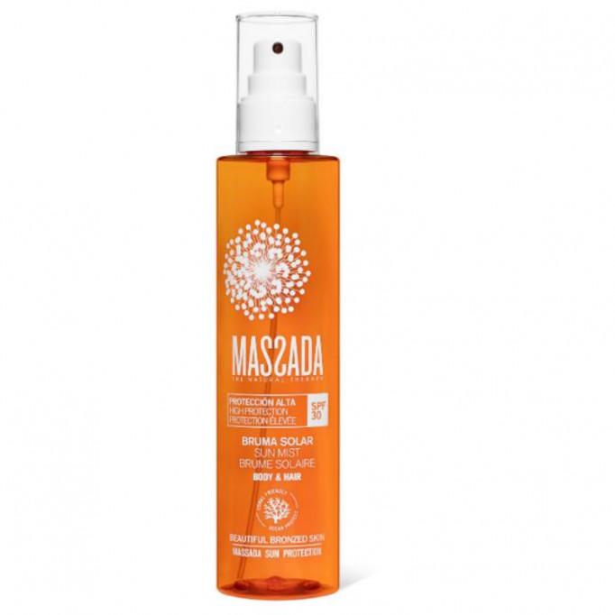 MASSADA bruma solar protección alta spf 30 body&hair