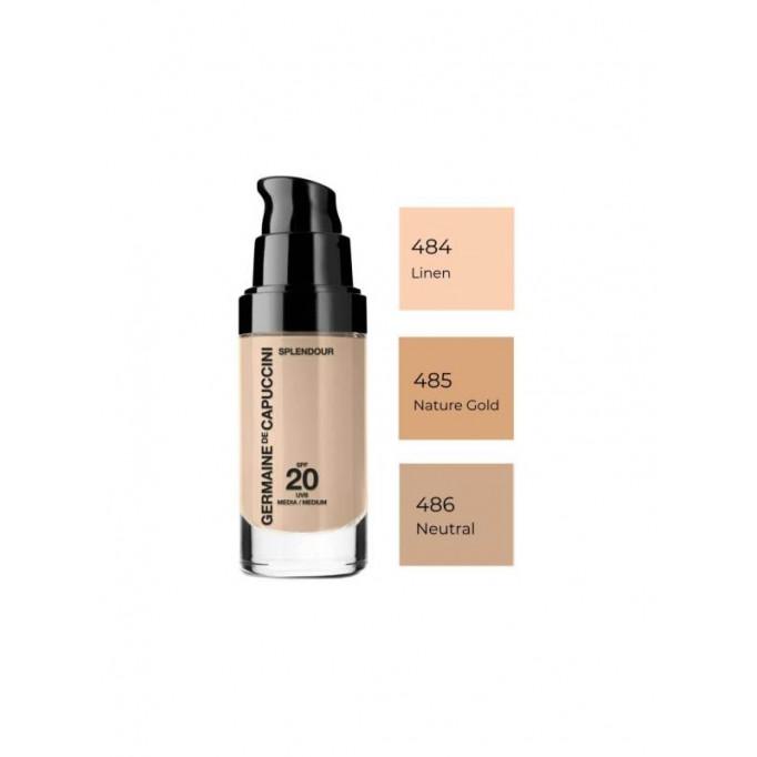 GERMAINE DE CAPUCCINI Base de maquillaje Splendour nº485 Nature Gold
