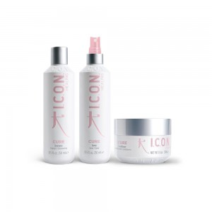 pack-icon-cure-champu-acondicionador-replenishing-spray