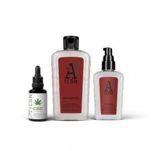 Pack Anticaída by ICON: CBD Oil | Champú | Elixir