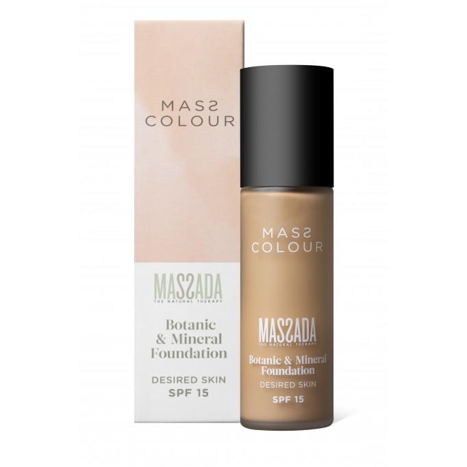 Base de maquillaje MASS COLOUR nº 1 MASSADA