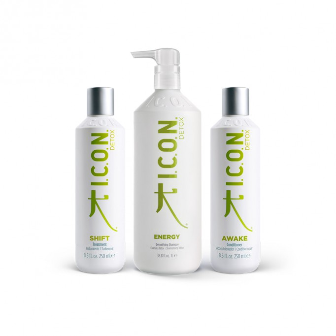 Pack ICON DETOX Energy litro + shift + awake 250ml