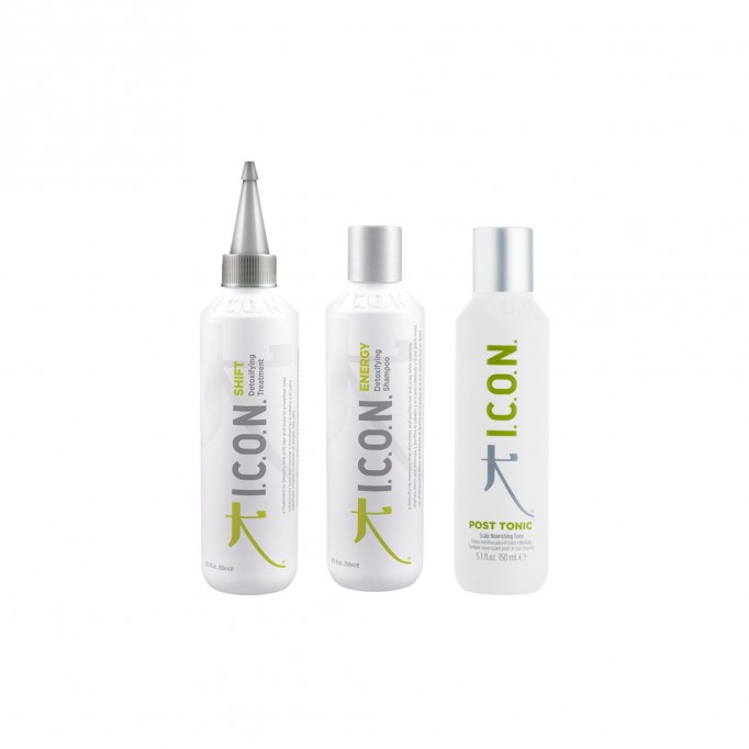 Pack ICON Detox post tonic: Shift + Energy + post tonic