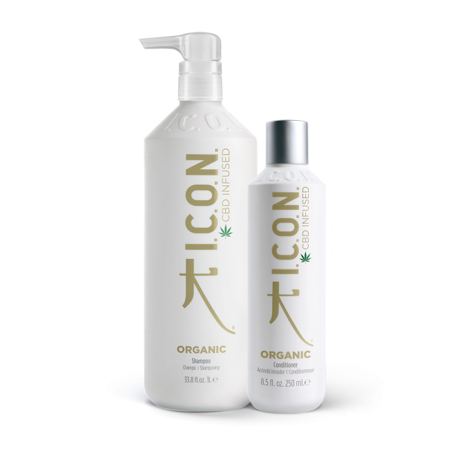 Pack ICON ORGANIC champu litro + acondicionador 250ml