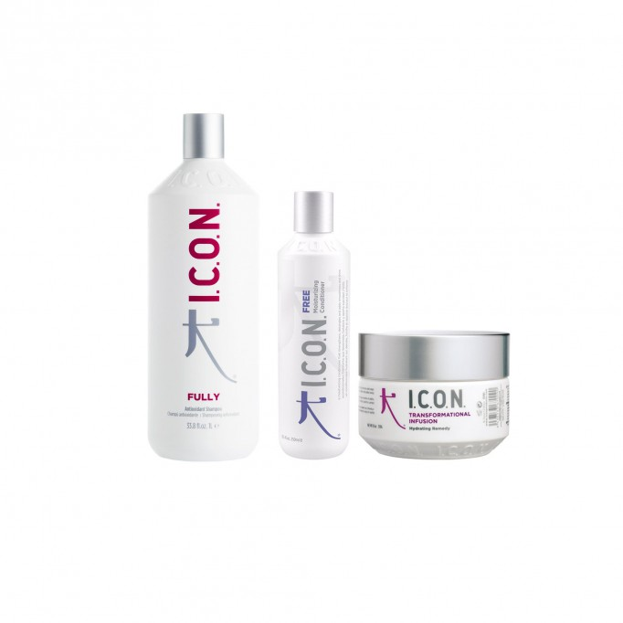 Pack ICON Fully 1000 ml + Free conditioner + Infusion