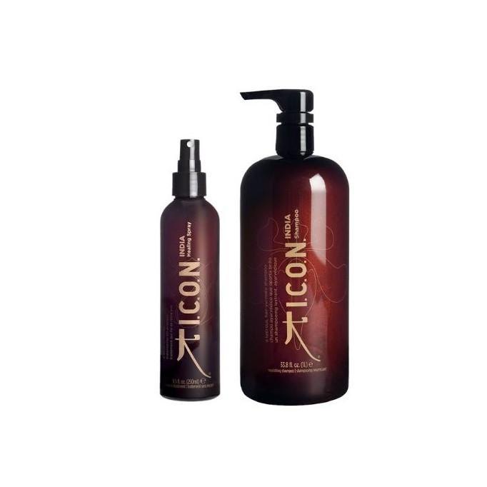 Pack ICON REBAJAS India champú litro + Healing spray