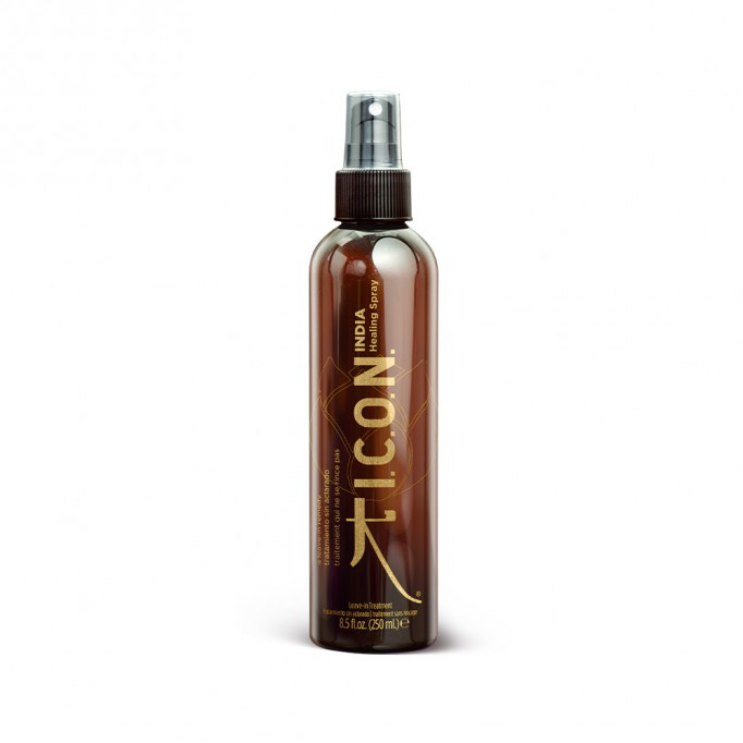 ICON INDIA HEALING SPRAY PARA CABELLO APORTA CUERPO Y VOLUMEN DESENREDA MIPELAZO