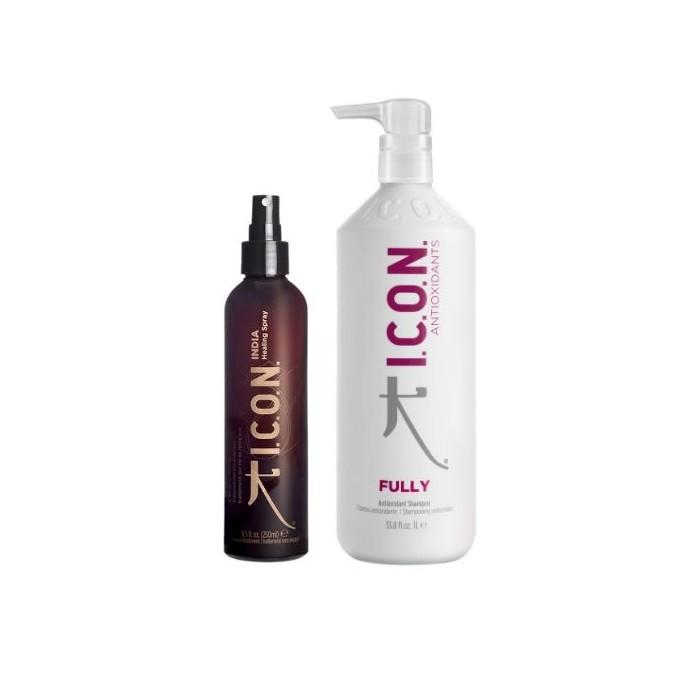 Pack ICON REBAJAS Fully champú Litro + Healing spray