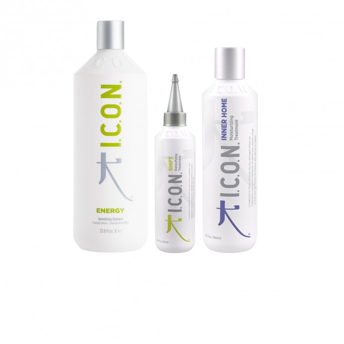 PACK ICON ENERGY 1L + SHIFT 250 ml + INNER HOME 250 ml
