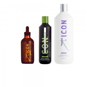 Pack ICON Protector Solar: India Oil + Protein + Inner 1000 ml