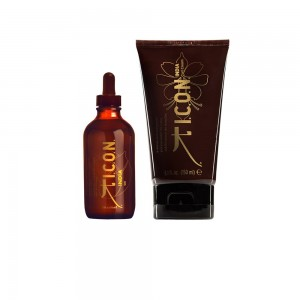 PACK ICON INDIA OIL + CURL CREAM