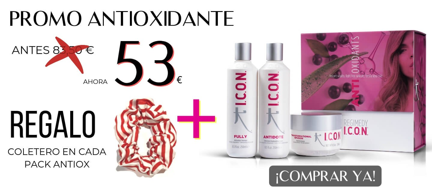 PROMOCION PACK ICON ANTIOXIDANTE FULLY ANTIDOTE INFUSION